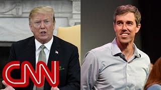 Trump mocks Beto O'Rourke: I've never seen so much hand movement