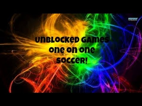 Unblocked Games- 1 On 1 Soccer