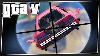 FLYING CARS vs SNIPERS | GTA 5 Online