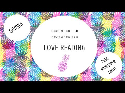 """Love messages - GEMINI """"THE CHOSEN ONE"""" DEC 3-9 WEEKLY LOVE READING"""