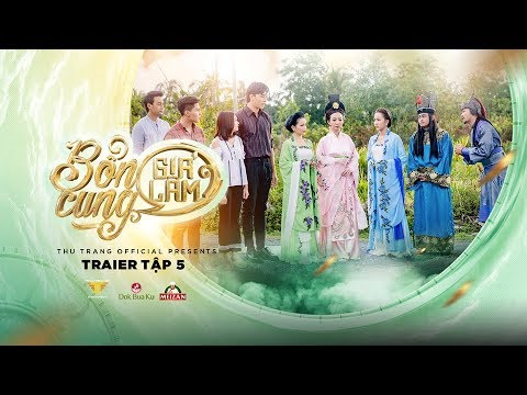 BỔN CUNG GIÁ LÂM TRAILER TẬP 5 | Thu Trang, Trường Giang, Diệu Nhi, Sĩ Thanh, La Thành, Hoàng Phi - Thời lượng: 83 giây.