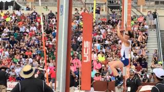 Emory (TX) United States  City new picture : Blind pole vaulter jumps at Texas UIL State Track Meet.