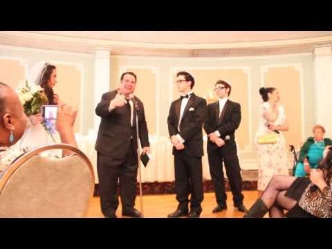 IRA & ISABELLA'S JEWISH-ITALIAN COMEDY WEDDING: Wedding is a 3-ring Circus...
