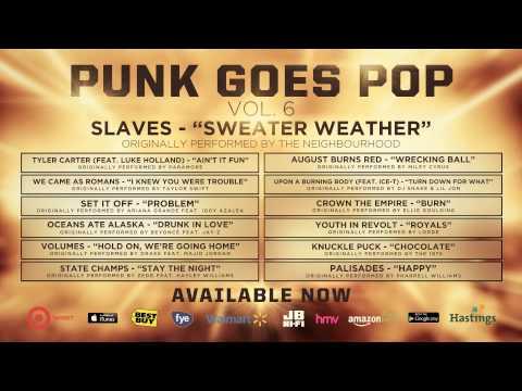 Tekst piosenki Slaves - Sweater Weather po polsku