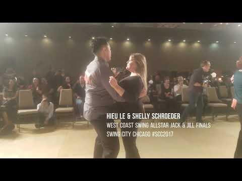Hieu Le & Shelly Schroeder West Coast Swing Allstar Jack & Jill Finals Swing City Chicago #SCC2017