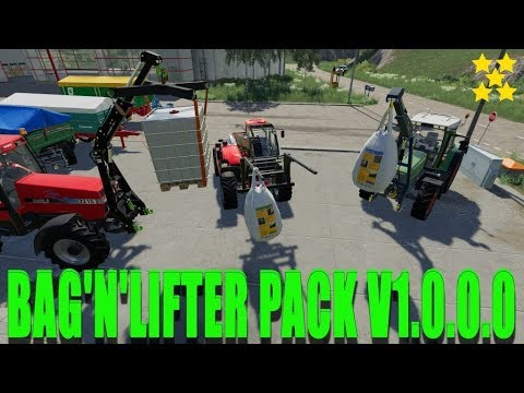 Bag'n'Lifter Pack v1.1.0.0