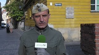 """Jabłonowski: """"Kaczyński zachowuje się jak tchórz pod babską kiecą""""."""