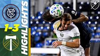 New York City FC 1-3 Portland Timbers | Golazo From Outside the Box! | MLS Highlights by Major League Soccer