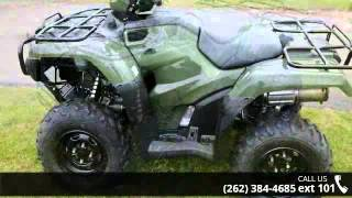 5. 2015 Honda FourTrax Foreman 4x4 ES Power Steering  - Acti...