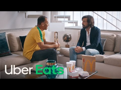 Cafu Tells Pirlo Why Brazil Are Going To Win The 2018 Fifa World Cup   Uber Eats