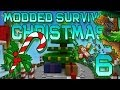 Minecraft: Modded Christmas Survival Let's Play w/Mitch! Ep. 6 - Candy Lane Biome!