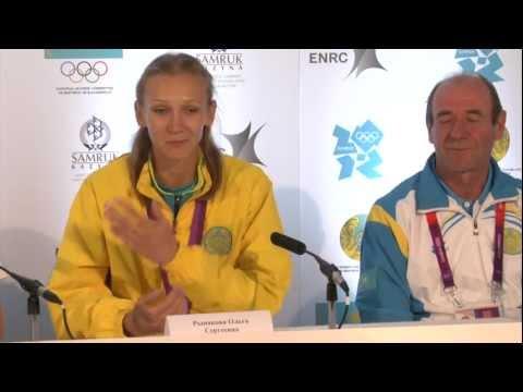 Ольга Рыпакова завоевала 6 золотую медаль для Казахстана