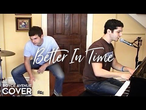 Leona Lewis – Better In Time (Boyce Avenue acoustic cover) on iTunes & Spotify