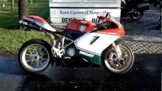 5. 2007 Ducati 1098S Tricolore Motorcycle