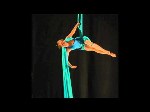 Aerial - A dynamic, energetic aerial silks act performed by Destiny Vinley of Maevy Aerial Arts and choreographed in collaboration with Jamie Hodgson. This act was or...
