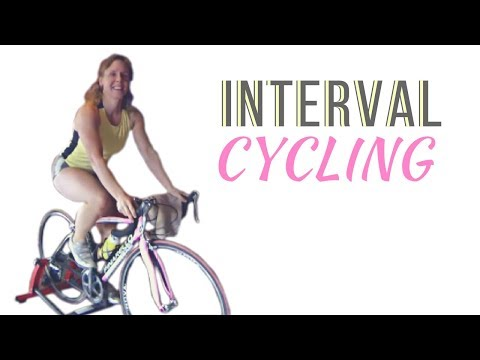 30 Minute Indoor Cycling Interval Workout – Home Fitness Cardio Workout – HIIT Workout