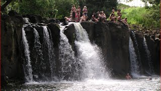 Kauai Hawaii United States  City new picture : Visiting Kipu Falls, Waterfall in East Kauai, Hawaii, United States