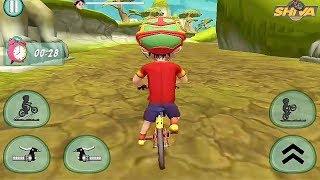 Shiva Bicycle Racing Game || Shiva Games || Shiva New Game || Kids Games || Bike Games