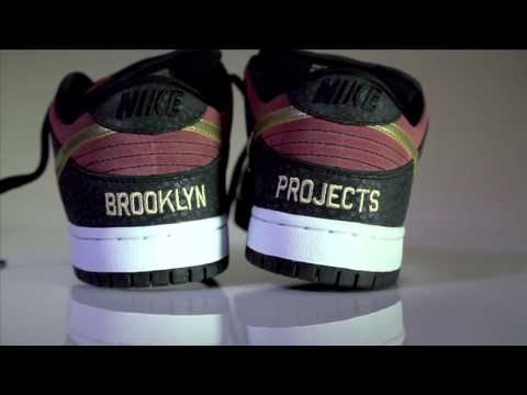 0 Brooklyn Projects x Nike SB Dunk Low Walk of Fame   Preview Video