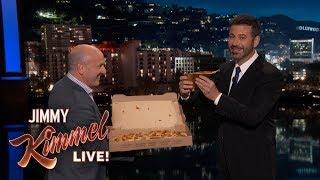 Jimmy Kimmel Tries Pumpkin Spice Pizza