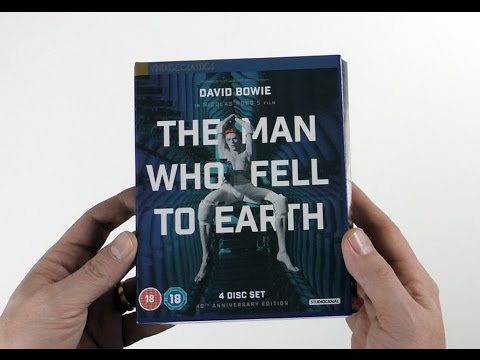 David Bowie / Nic Roeg / The Man Who Fell To Earth Unboxed