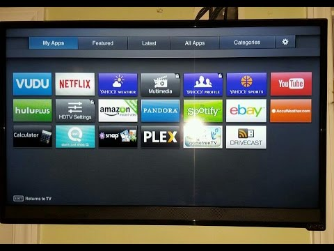 REVIEW 2015 VIZIO 28 inch E28h C1 720p Smart LED TV DEMO