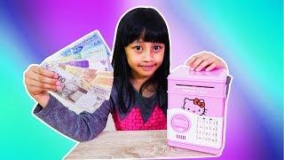 Mainan Celengan ATM untuk belajar menabung || Mainan anak