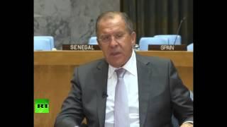 Лавров: реанимация перемирия в Сирии возможна только на коллективной основе