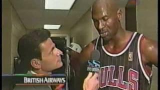 Michael Jordan vs Allen Iverson (1996)