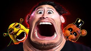 Oh wow! It's another hilarious horror compilation! How about that?Subscribe Today! ► http://bit.ly/Markiplier▼▼▼ All Games OUT OF ORDER of Appearance ▼▼▼Grandma ► https://www.youtube.com/watch?v=es_aEOrBmxsNight Horrors ► https://www.youtube.com/watch?v=Lq2T0zDjxIwPACWAR ► https://www.youtube.com/watch?v=xanqS6Xa1YwUnforgiven ► https://www.youtube.com/watch?v=4l4qAVUiToIThe Onioning ► https://www.youtube.com/watch?v=_NK4wPMlP0EHUMAN ► https://www.youtube.com/watch?v=aiVmknVoPvAWounded ► https://www.youtube.com/watch?v=i4t-epsImC0Awesome Games Playlist ► https://www.youtube.com/playlist?list=PL3tRBEVW0hiDAf0LeFLFH8S83JWBjvtqEScary Games Playlist ► https://www.youtube.com/playlist?list=PL3tRBEVW0hiBSFOFhTC5wt75P2BES0rAoFollow my Instagram ► http://instagram.com/markipliergramFollow me on Twitter ► https://twitter.com/markiplierLike me on Facebook ► https://www.facebook.com/markiplierJoin us on Reddit! ► https://www.reddit.com/r/Markiplier/Horror Outro ► https://soundcloud.com/shurkofficial/hauntedHappy Outro ► https://soundcloud.com/hielia/minimusicman-crazy-la-paint