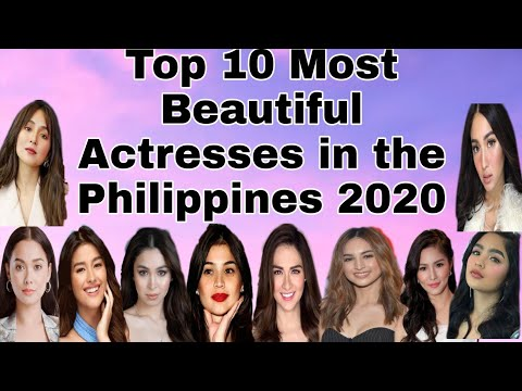 Top 10 Most Beautiful Actresses in the Philippines 2020