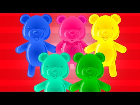 Zehn im das Bett | reime für Kinder | Kinder Lieder | Nursery Rhymes | Jelly Bears | Ten in the Bed