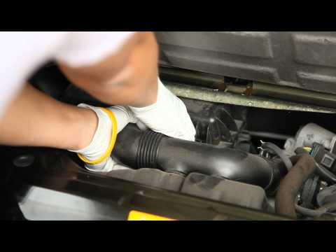 How to: Engine air filter change Smart Car Fortwo