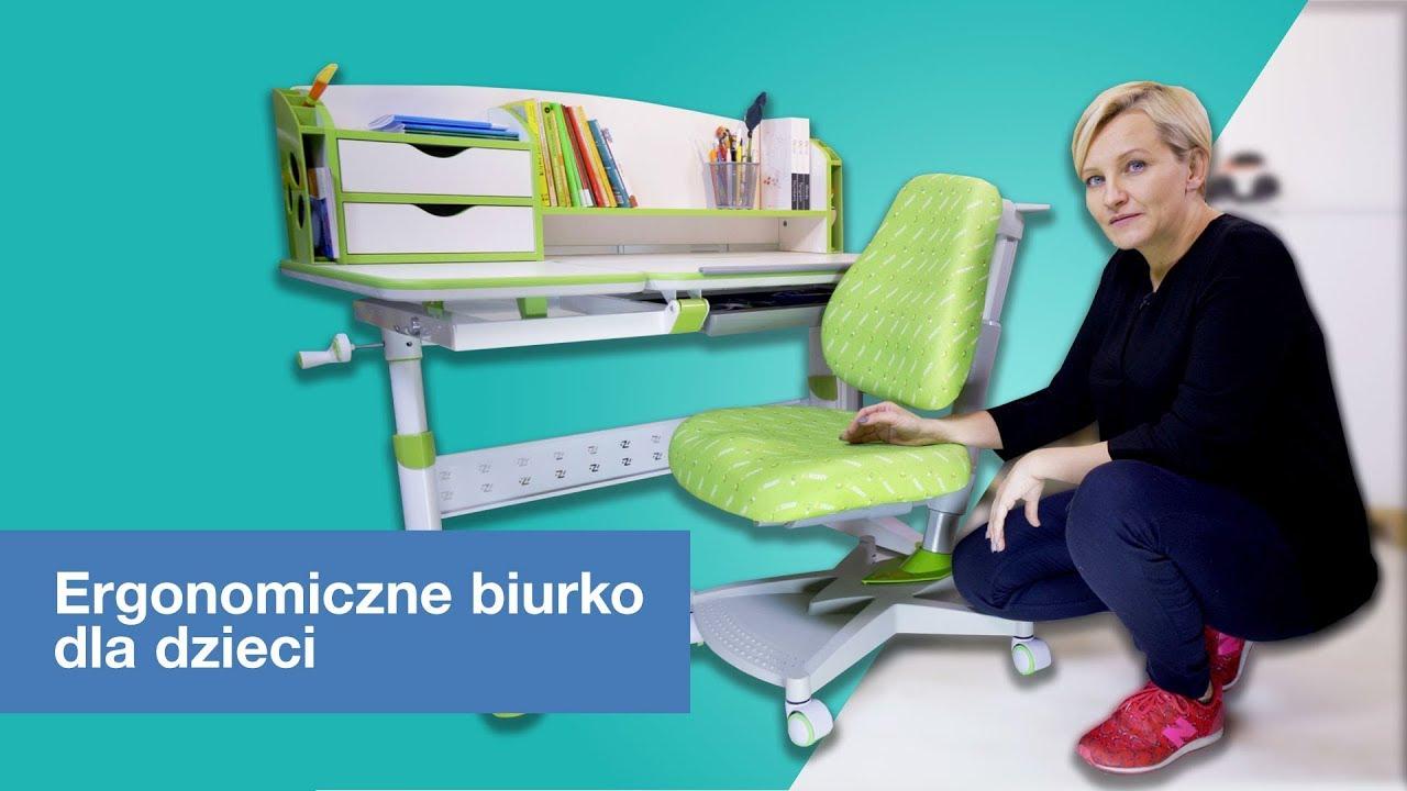 Ergonomiczne biurko dla dzieci I-Study Bologna