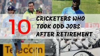 Video 10 Cricketers who Did Odd Jobs After retirement MP3, 3GP, MP4, WEBM, AVI, FLV November 2018