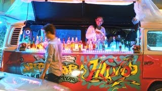 Bangkok Nightlife Best Mobile Bar In A VW Bus