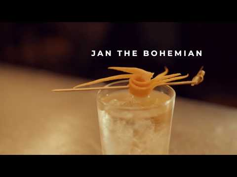 NY Basement Cocktail: Jan The Bohemian