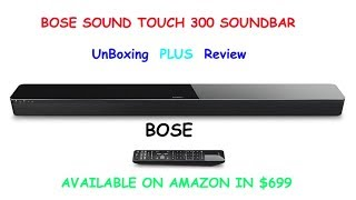 Bose Sound Touch 300 Sound Bar |Amazing Sound| Official |Review