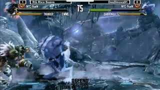 KI @ Defend the School: RG Rico Suave (Thunder) vs DesDinova91 (Sabrewulf) - WINNERS FINALS