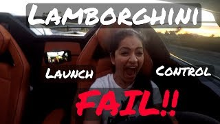 Launch control in a Lamborghini should be easy right? Here is a launch control tutorial learned through many attempts in my...