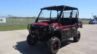 5. 2016 Kawasaki Mule Pro FXT EPS LE Custom Outfitted with Lift and More!