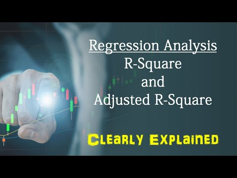 Predictive Analytics: Regression analysis - R-Square and Adjusted R-Square  Clearly Explained.