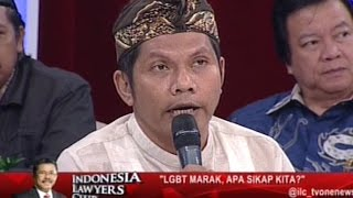 "Video [Full] Indonesia Lawyers Club - ""LGBT Marak, Apa Sikap Kita?"" (16/02/2016) MP3, 3GP, MP4, WEBM, AVI, FLV Oktober 2018"