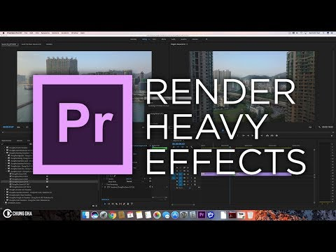 Render Heavy Effects tutorial in Premiere Pro by Chung Dha