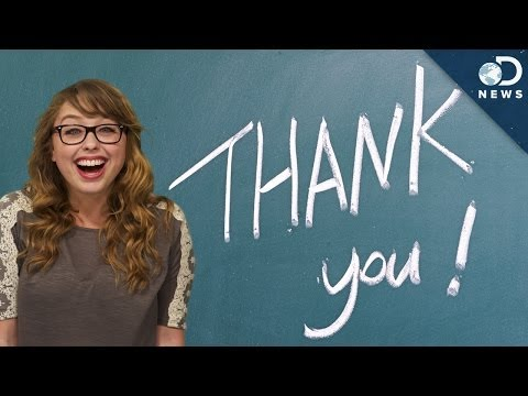 You) - As Laci prepares to depart from her position as an official DNews host, she thought she would take some time to talk about the importance of expressing gratitude. Watch Laci on her personal...