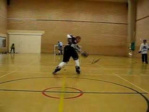danny page roller hockey speed shot