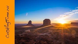 Долина Монументов - Самый красивый рассвет - Monument Valley, Timelapse by Gopro - VLOG