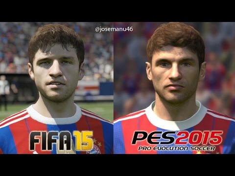 Munich - More FIFA 15 vs PES 2015 Face Comparison: Barcelona: http://youtu.be/dQ8VnaPeqxQ Real Madrid: http://youtu.be/WeqoPLPqkac Bayern Munich: http://youtu.be/Bya7sfxCCnM Juventus: http://youtu.be/4atqS...