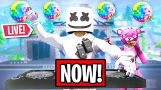 FORTNITE MARSHMELLO EVENT HAPPENING RIGHT NOW! (Fortnite: Battle Royale)