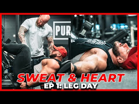 FULL LEG DAY | SWEAT AND HEART EP1: ANTOINE VAILLANT & MIKE VAN WYCK